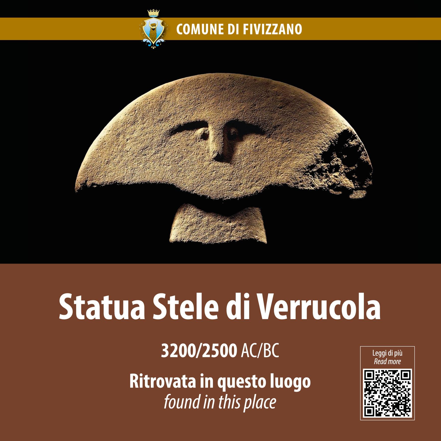 statua stele della Verrucola
