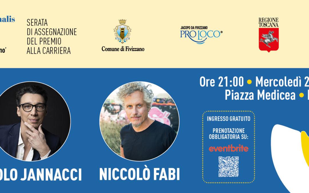 Niccolò Fabi e Paolo Jannacci premiati a Fivizzano – 26 agosto 2020